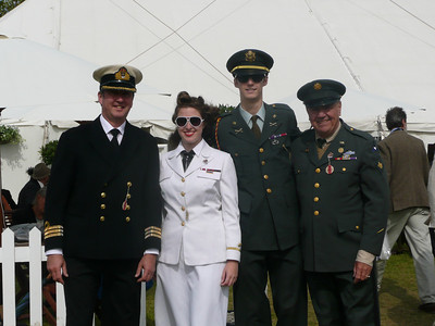 Goodwood Revival 2011, our uniforms.
