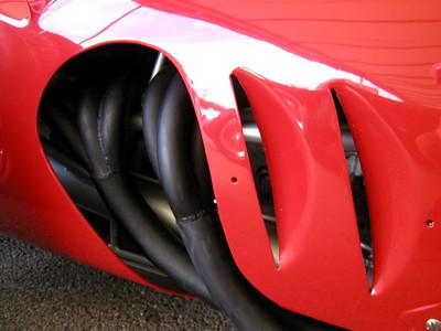 Goodwood Revival Race Car Paddock, England