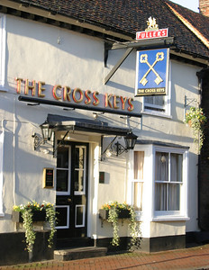 The Cross Keys, one of two pubs in Great Missenden.