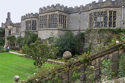 Haddon Hall, view from garden