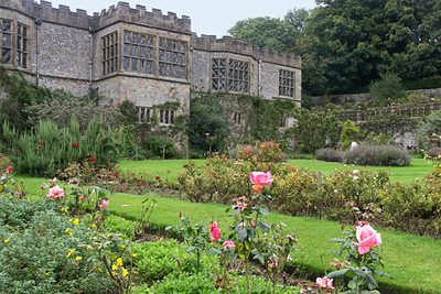 Haddon Hall, view from garden.