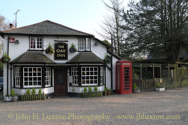 The Oak Inn, Lyndhurst, New Forest, Hampshire. April 02, 2012