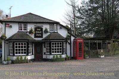 The Oak Inn, Lyndhurst, New Forest, Hampshire. April 02, 2012
