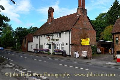 Dolphin Inn, Hursley, Hampshire. August 2011