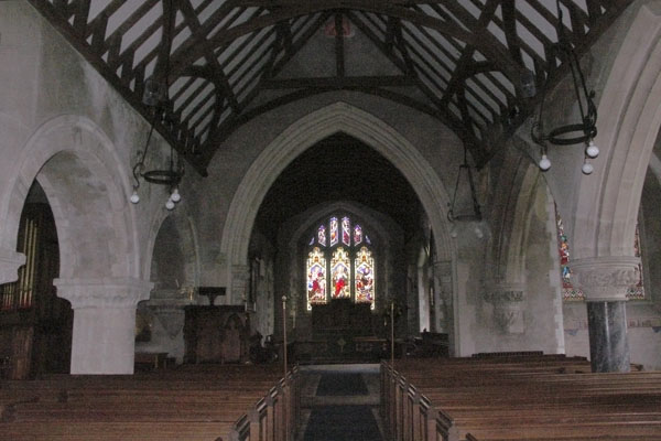 Inside Manydown Church