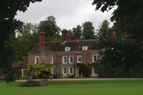 Deane House in Steventon, the Harwoods' Georgian red brick house, where Jane attended dances. Her friends the Lloyds also lived on the Deane estate. Martha Lloyd married her brother Francis.