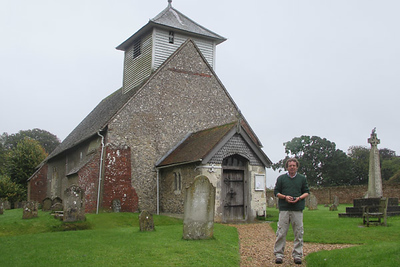 My first stop with Phil of Hidden Britain Tours from Bolingbroke, Hampshire was Dummer Church in Dummer Village. Austen visited the Terry family in Dummer (and frequently danced with their son, Stephen), and may have attended the church there.