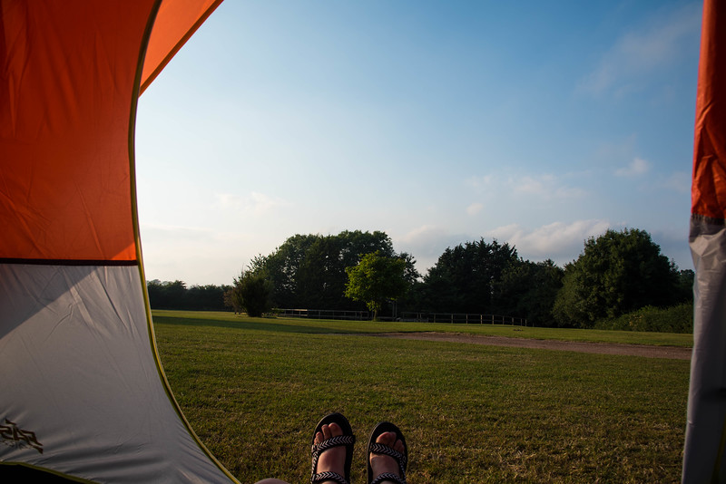camping in south devon
