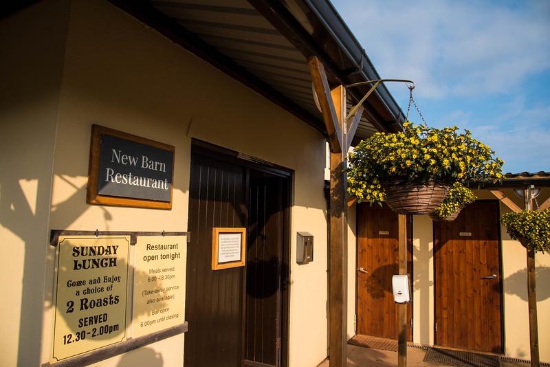 new barn restaurant ross park