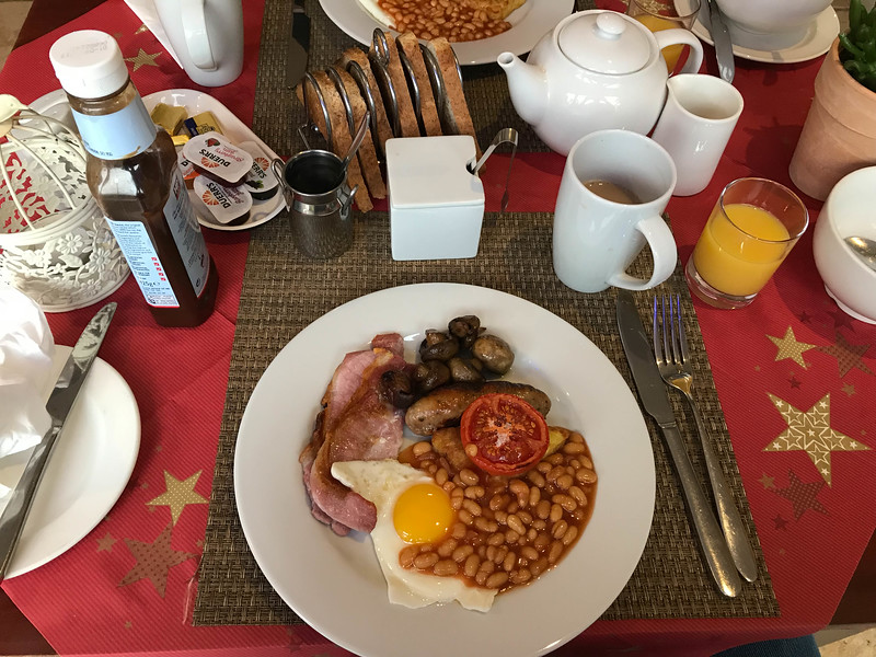 the hampshire hotel breakfast