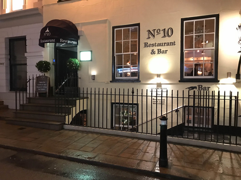 number 10 restaurant and bar st helier