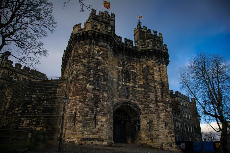 lancaster castle lancashire uk