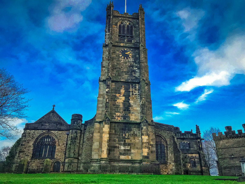 lancaster priory church lancashire