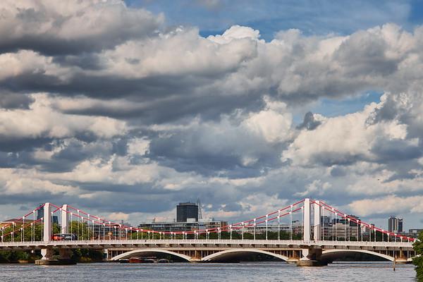 Battersea Bridge over the River Thames