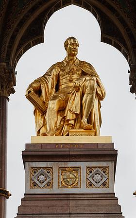Prince Albert statue in Hyde Park