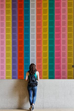 Tourist at the Tate Modern