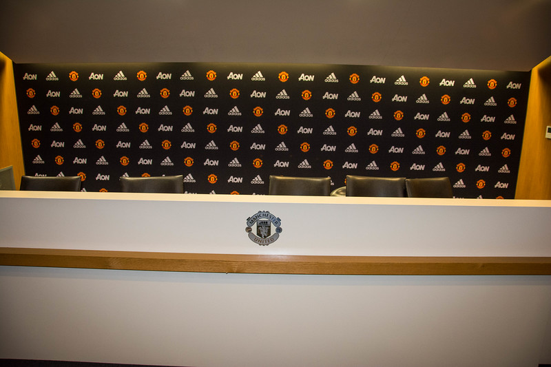 old trafford press room