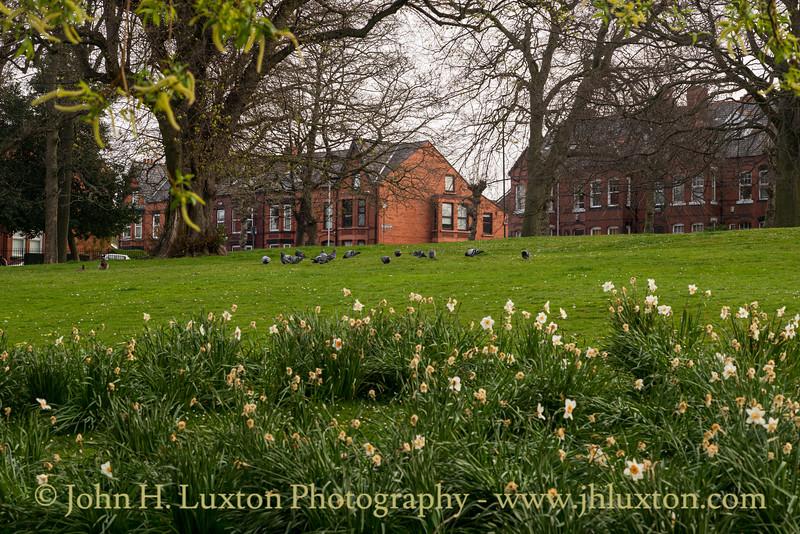 Greenbank Park, Liverpool, Merseyside - April 10, 2020