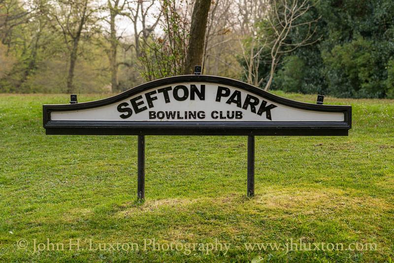 Sefton Park, Liverpool, Merseyside - April 10, 2020