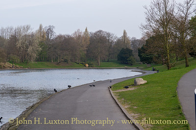Sefton Park, Liverpool, Merseyside - April 10, 2020