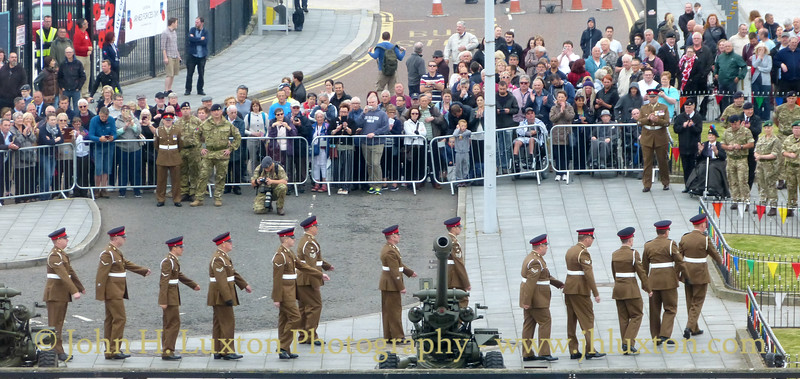 Armed Forces' Day at Liverpool Pier Head - June 24, 2017