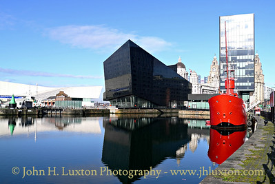 Canning Dock, Liverpool, March 01, 2014