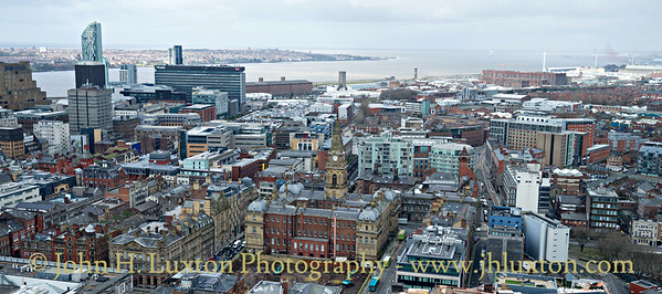 Liverpool - View from St John's Beacon -March 02, 2017