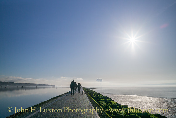 West Kirby, Wirral, Merseyside - January 23, 2020