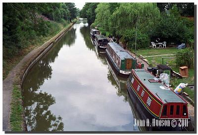 1377_1994023-R7-C4-NCS-England : Grand Union Canal west of Kenilworth and south west of Balsall Common