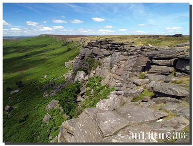 780_J7213241-UK : Stanage Edge in July.