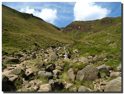 799_J7263375-UK : Upper reaches of Grinds Brook, Edale, Derbyshire.