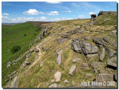 779_J7213240-UK : Stanage Edge in July.
