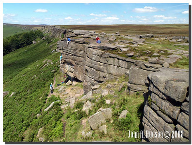 783_J7213247-UK : Stanage Edge in July.