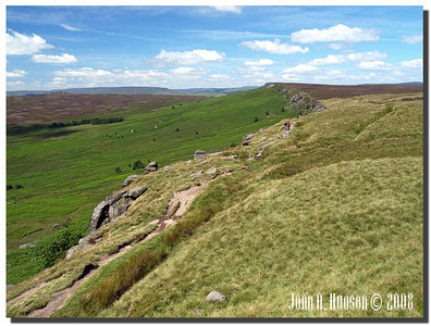778_J7213238-UK : Stanage Edge in July.