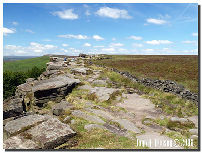 782_J7213245-UK : Stanage Edge in July.