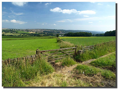 826_J7263358-UK : In a NNE direction from Ringinglow overlooking the western edge of Sheffield.