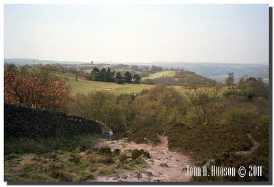1357_1984010-R6-C1-NCS-England : Alongside the northern perimeter of Hallamshire Golf Club, Sheffield.