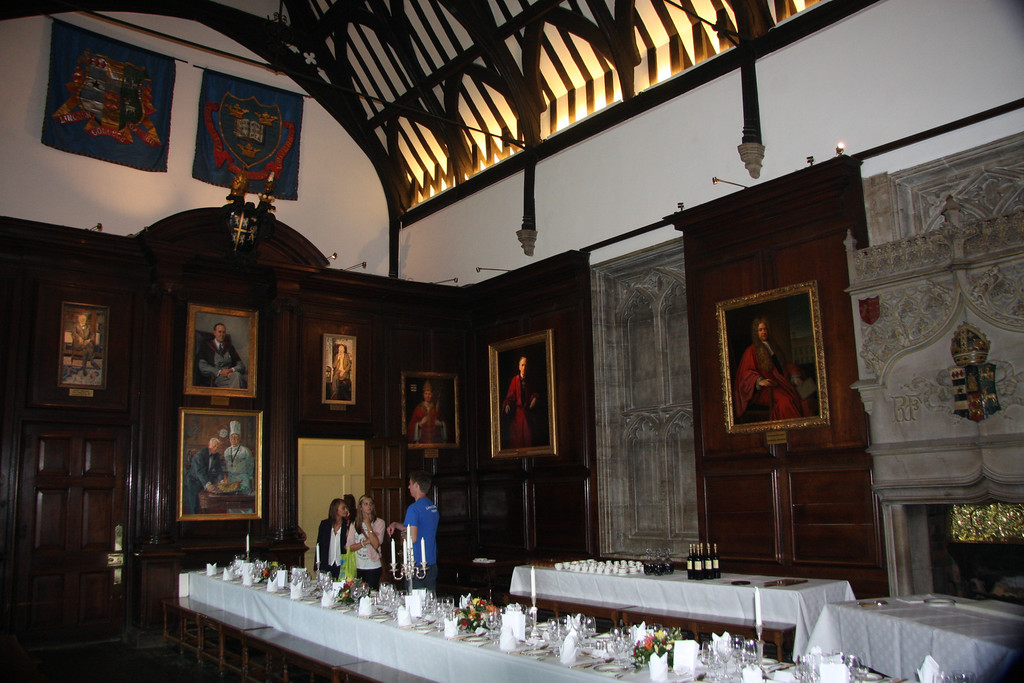 Lincoln College, Oxford, dining hall