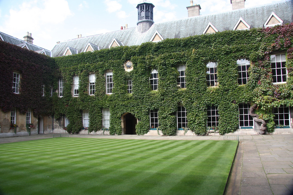 Lincoln College, Oxford, the front Quad.