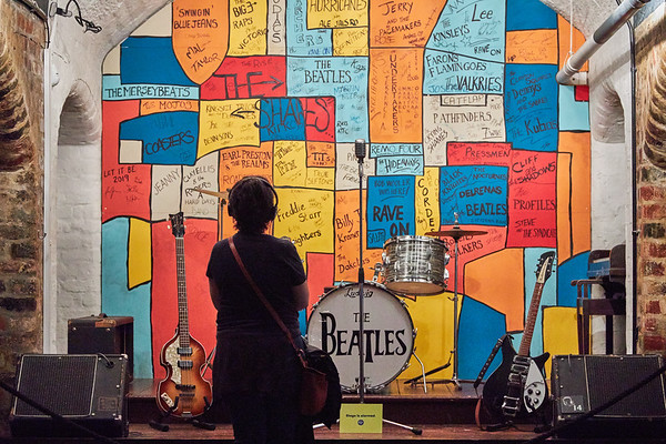 Carvern Club mock-up, The Beatles Story museum, Liverpool