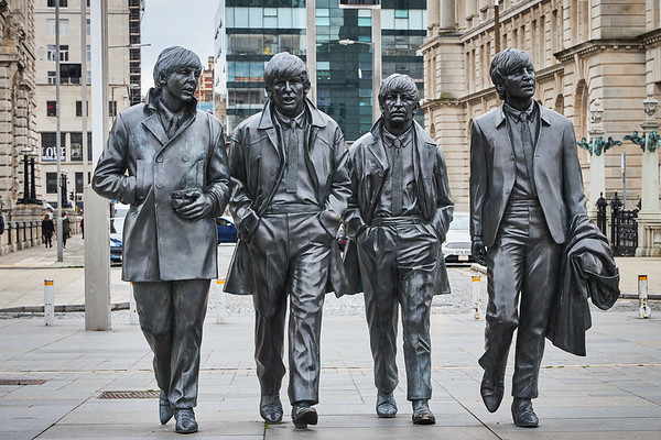 The Beatles statue, Liverpool