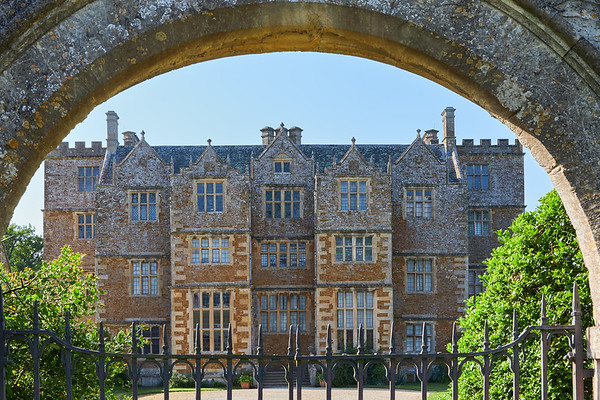Chastleton House, a Jacobean country house  built between 1607 and 1612 in the village of Chastleton in Oxfordshire