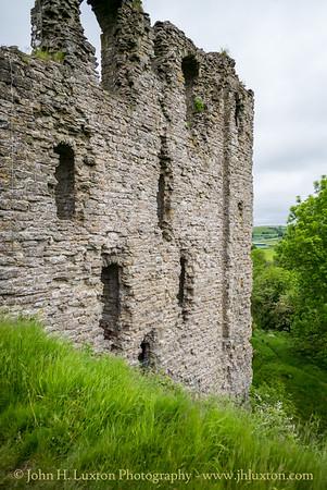 Clun Castle, Clun, Shropshire - June 10, 2021