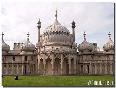 2398_J9201440-England : The Royal Pavillion, Brighton, East Sussex