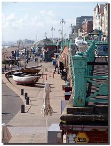 2404_J9201453-England : Sea shore promenade, Brighton, East Sussex