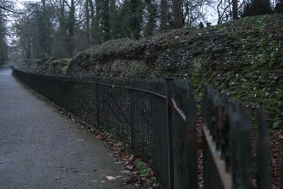 Roman wall from Verulamium