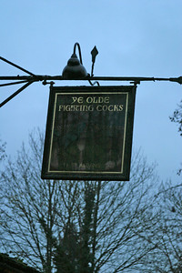 Ye Olde Fighting Cocks, St. Alban's, believed to be one of the oldest pubs in England.