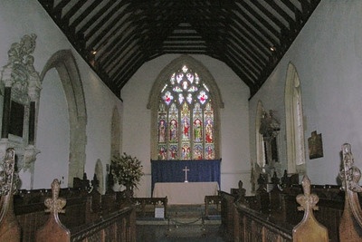 Inside a parish church at Stow-on-Wold