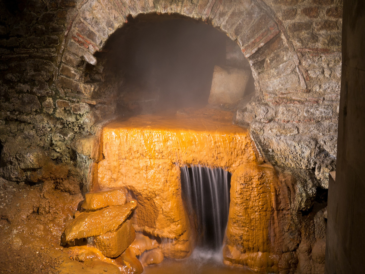 Roman Baths hot spring