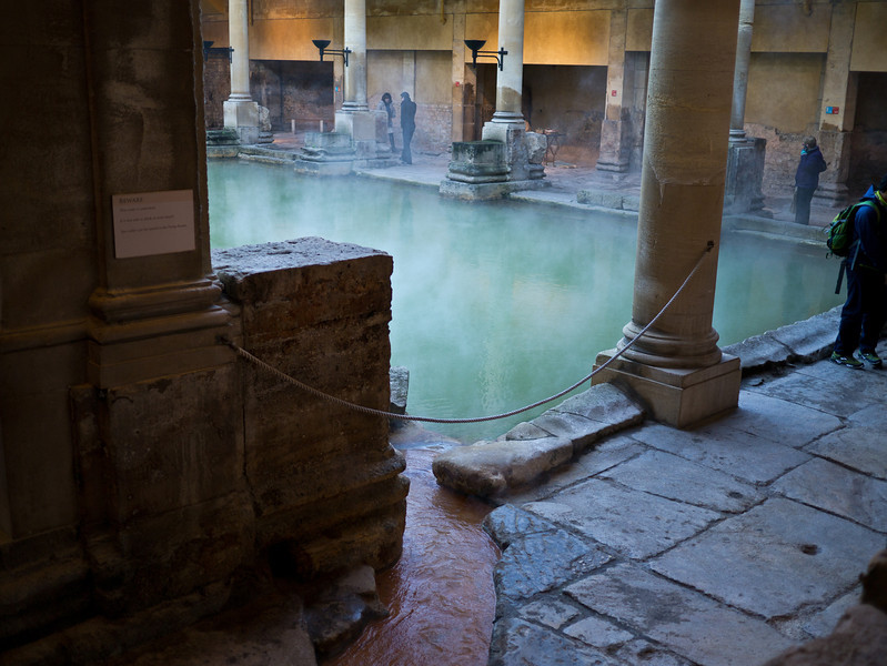 Roman Baths hot spring
